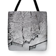 The Hundred Steps In The Snow Tote Bag