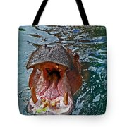 The Hungry Hippo Tote Bag