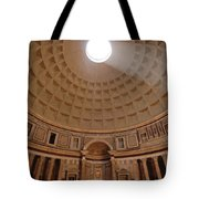The Inside Of The Pantheon Tote Bag