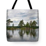 The Island In The Middle Tote Bag