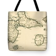 The Islands Of Guadeloupe Tote Bag