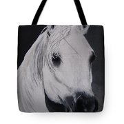 The Ivory Queen Tote Bag