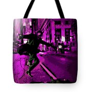 the Joker about to Pounce Tote Bag