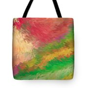 The Journey Tote Bag by Deborah Benoit
