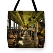 The Journey Ends Tote Bag