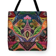 The Joy Of Design Series Arrangement Cornucopia Tote Bag