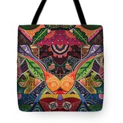 The Joy Of Design Series Arrangement Embracing Complexity Tote Bag