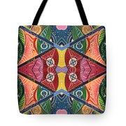 The Joy Of Design V Arrangement Hanging In The Balance Tote Bag