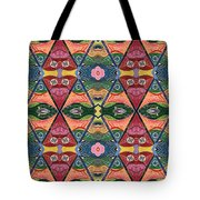 The Joy Of Design V Arrangement Strength In Numbers Tote Bag