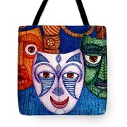 The Joy  The Anger And The Fear  Tote Bag