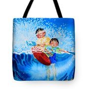 The Kayak Racer 10 Tote Bag