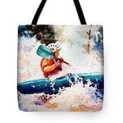The Kayak Racer 18 Tote Bag