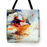 The Kayak Racer 19 Tote Bag