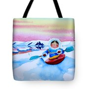 The Kayak Racer 3 Tote Bag