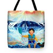 The Kayak Racer 5 Tote Bag