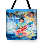 The Kayak Racer 7 Tote Bag
