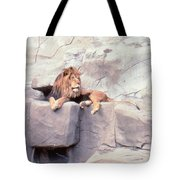 The King At Rest Tote Bag