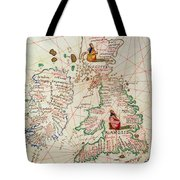 The Kingdoms Of England And Scotland Tote Bag