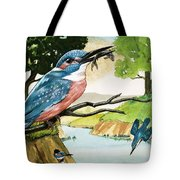 The Kingfisher Tote Bag