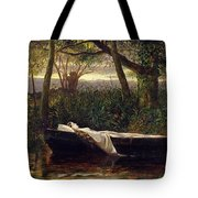 The Lady Of Shalott Tote Bag by Walter Crane