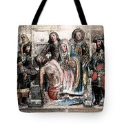 The Lamentation Of Christ Tote Bag