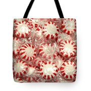 The Land Of Peppermint Candy Square Tote Bag