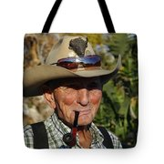 The Last Cowboy Of The West Tote Bag