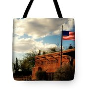 The Last Outpost Old Tuscon Arizona Tote Bag