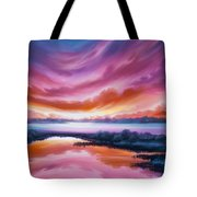 The Last Sunset Tote Bag