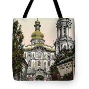 The Lavra Gate - Kiev - Ukraine - Ca 1900 Tote Bag