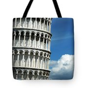 The Leaning Tower Of Pisa Italy Tote Bag