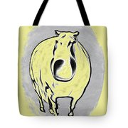 The Legend Of Fat Horse Tote Bag