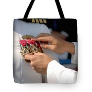 The Legion Of Merit Medal Tote Bag
