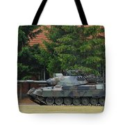 The Leopard 1a5 Main Battle Tank In Use Tote Bag by Luc De Jaeger