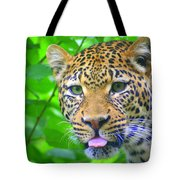 The Leopard's Tongue Tote Bag