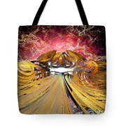 The Light At The End Of The Tunnel Tote Bag