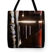 The Light Enters Barn Tote Bag