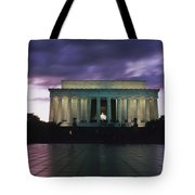 The Lincoln Memorial At West End Tote Bag