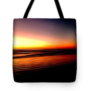 The Lines Of Sunrise  Tote Bag
