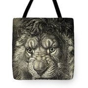The Lion, King Of Beasts.  From El Tote Bag