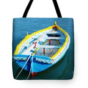 The Little Boat. Tote Bag