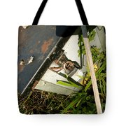The Lock Box Tote Bag by Trish Hale