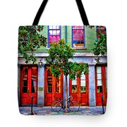 The Locked Bicycle - New Orleans Tote Bag