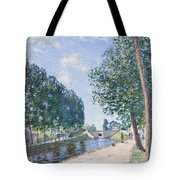The Loing Canal At Moiret Tote Bag