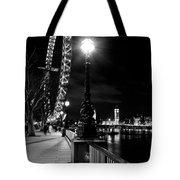 The London Eye At Night Tote Bag