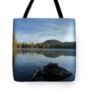 The Lone Log Tote Bag