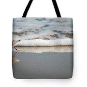 The Lone Sandpiper Tote Bag
