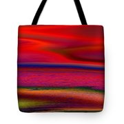 The Lonely Beach Tote Bag