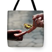 The Lord God Loves Them All Tote Bag