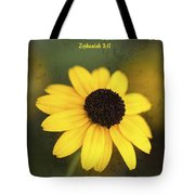 The Lord Thy God In The Midst Of Thee Is Mighty Tote Bag